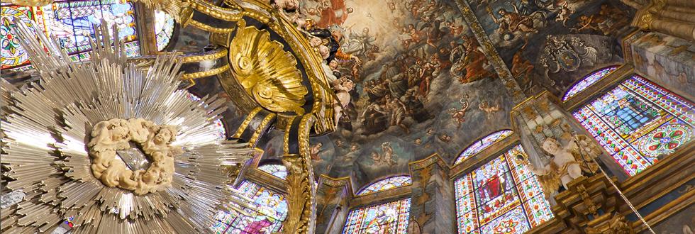 Pinturas de la catedral